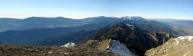 El Cadí, desde la Tossa d'Alp