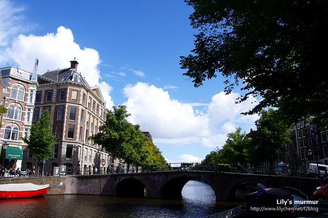 我一直忘不了那天的好天氣,讓我有機會看清楚阿姆斯特丹的美麗。