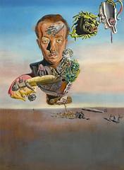 Salvador Dalí - Portrait de Paul Éluard (1929)