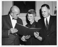 (left to right): Walter Bauer, Rebecca Price C...