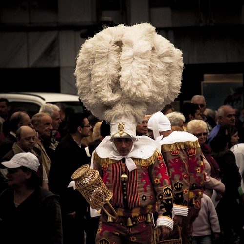 Carnavalesque (Gille de Binche, Liège, 2010) - Photo : Gildéric