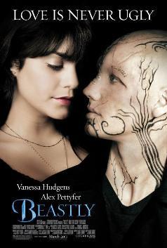 Beastly by Alex Flinn starring Vanessa Hudgens Movie Poster