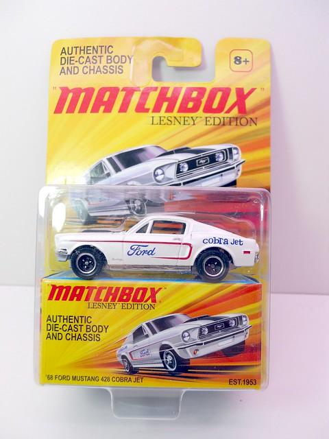 matchbox '68 ford mustang 428cobra jet  (1)
