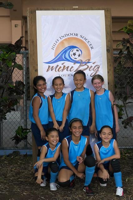 Tournament Champions: Girls U10 division, 2011 Mini Big