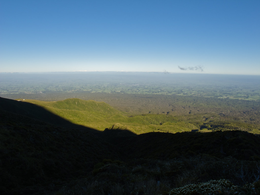 From the slopes of Taranaki