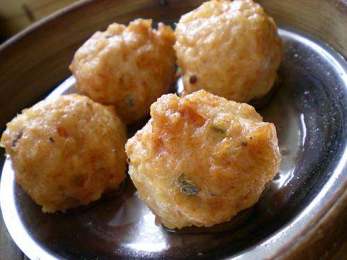 Farley dim sum - chicken meat balls