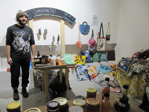 Sprouting56 at New Gallery Jumble
