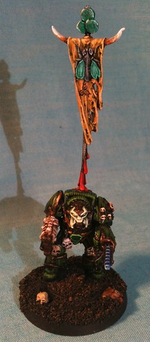 Nurgle Terminator with backbanner