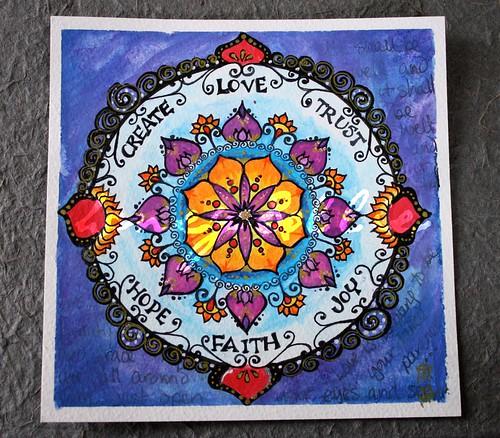 mandala for giveaway