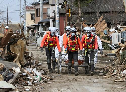 japan rescue team members