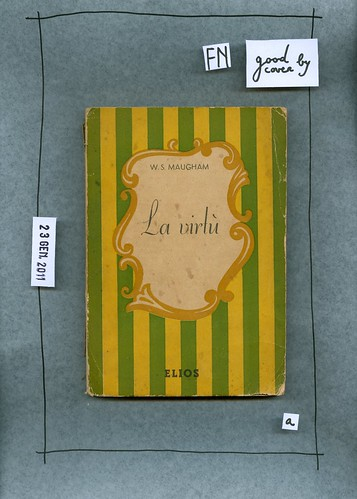 Somerset Maugham, La virtù, Elios [19..?]. I gioielli 2. Copertina