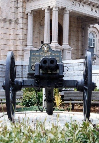 The Double Barreled Canon of Athens, Georgia