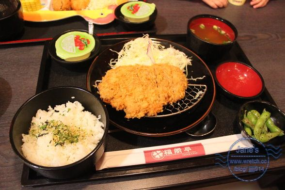 【福勝亭】平價開運日式豬排套餐 @ ★*-珍愛玩樂 .Jane's Blog-*★ :: 痞客邦