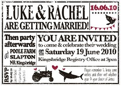 Wedding Invites created by SixteenEighteen