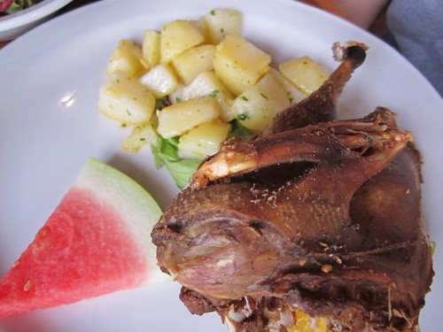 a Balinese specialty - crispy duck!!