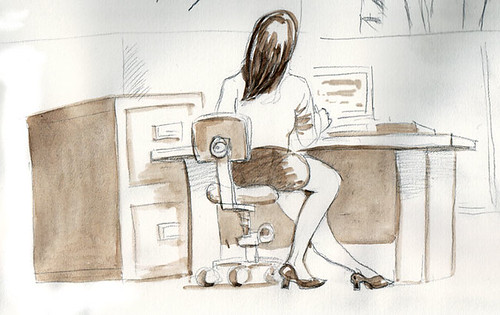 office-woman