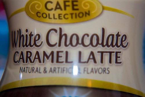 White Chocolate Caramel Latte