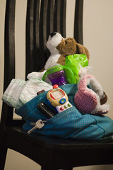 Diaper Bag Prepped and Ready