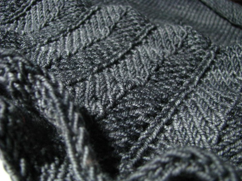 Emiily Shmemily Shawl Lace Edging