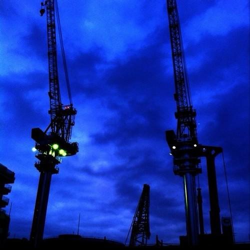 はーい!今晩も行くよー!クレーン祭りダオ~! #crane みんなも参加してねー!ヾ(@⌒ー⌒@)ノ