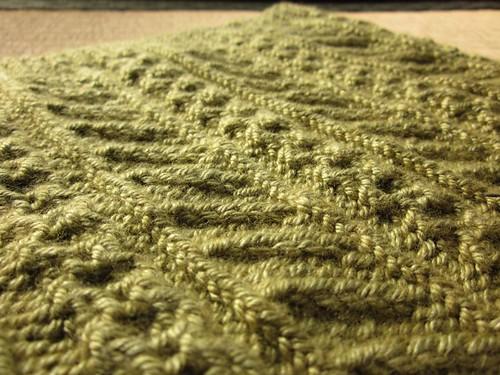 Knitting: Cornflower Cowl 1