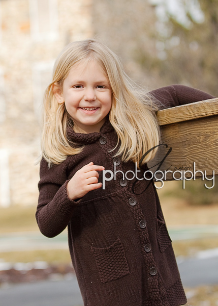 Natalie 5 year portrait session