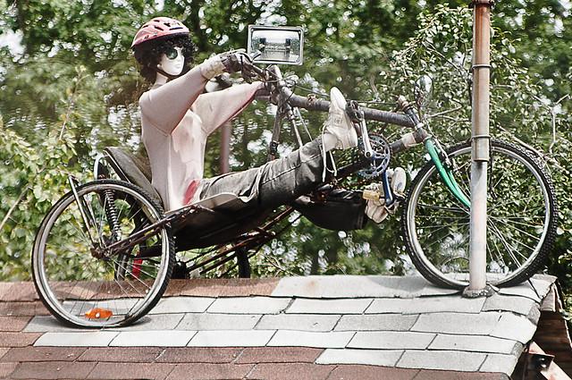 I love bike related art...