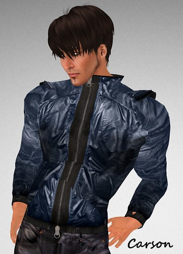JfL zipped jacket blue Menstuff hunt edition