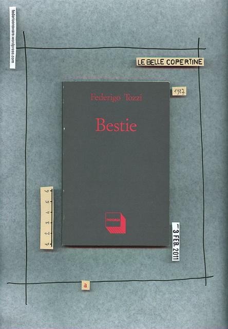 Federigo Tozzi, Bestie, Edizioni Theoria 1987. Copertina