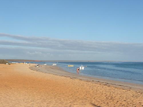 Beach at Monkey Mia