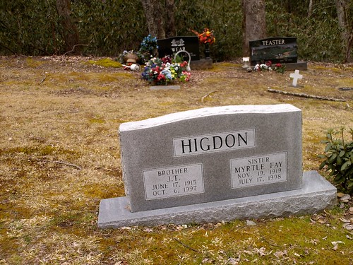2008 Elkmont6 Cemetary Higdon Stone by Jessica
