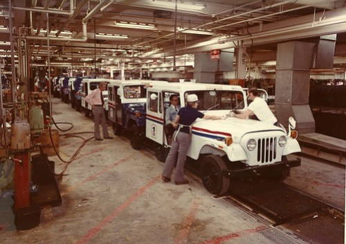 JEEP Dispatcher assembly line