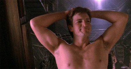 Castle Nathan Fillion Shirtless