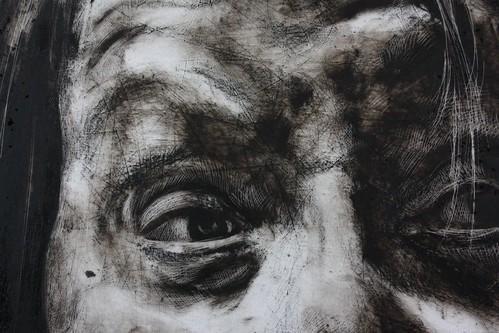 Detail of Self-Portrait Study