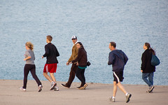 lakefront joggers