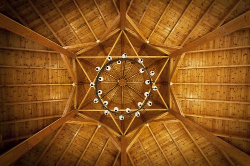 Ceiling, Eli Cohen Synagogue, Rosh Pina