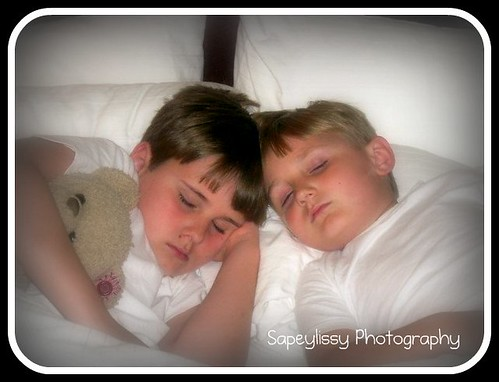 My sleeping angels by sapeylissy (Jamie A. McBride)