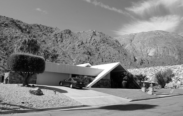 Street/North Elevation:  Vista Las Palmas Home, Palm Springs CA