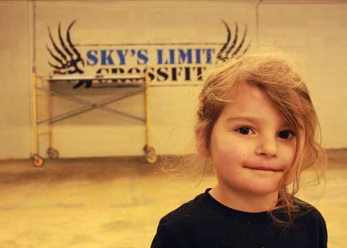 "Skyler, the ""Sky"" in Sky's Limit CrossFit"