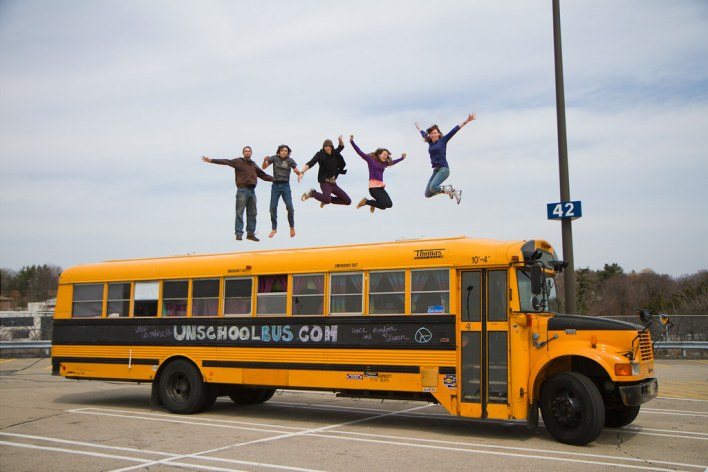 Unschool Bus jumpshot