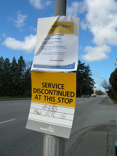 Service discontinued