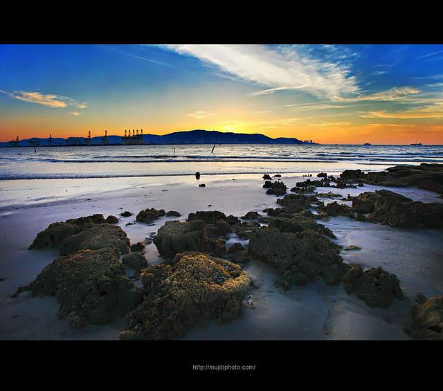 sunset at B.O.R.R..