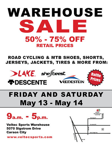 Veltec Warehouse Sale