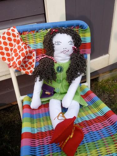 Rag doll by Samantha Halliwell