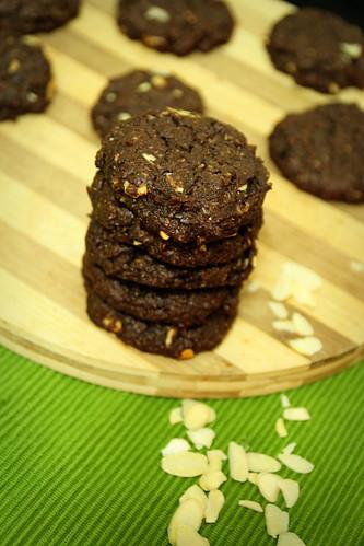 cookies-almond-flakes