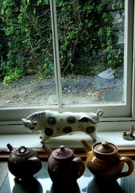 Ty Isaf kitchen window