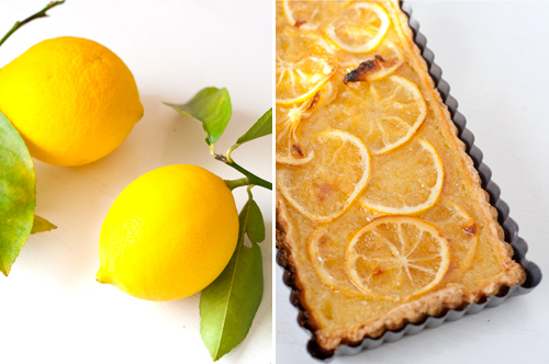 shaker lemon tart