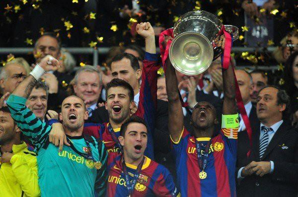 Abidal levanta la Champions
