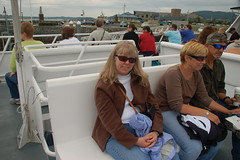 Laura on the Boat