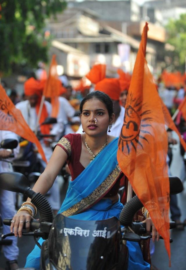 Moped in Maharashtrian